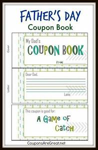this father39s day coupon book is a great inexpensive With voucher booklet template