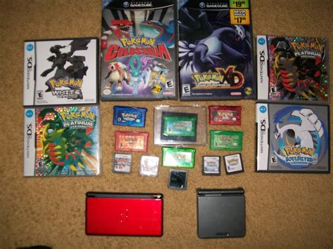 All Of My Pokemon Games By Blackout17 On Deviantart