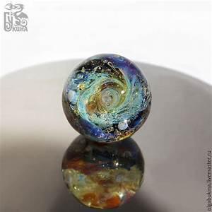 Glass ball Van Gogh. Universe Stars Space Sphere Gold ...