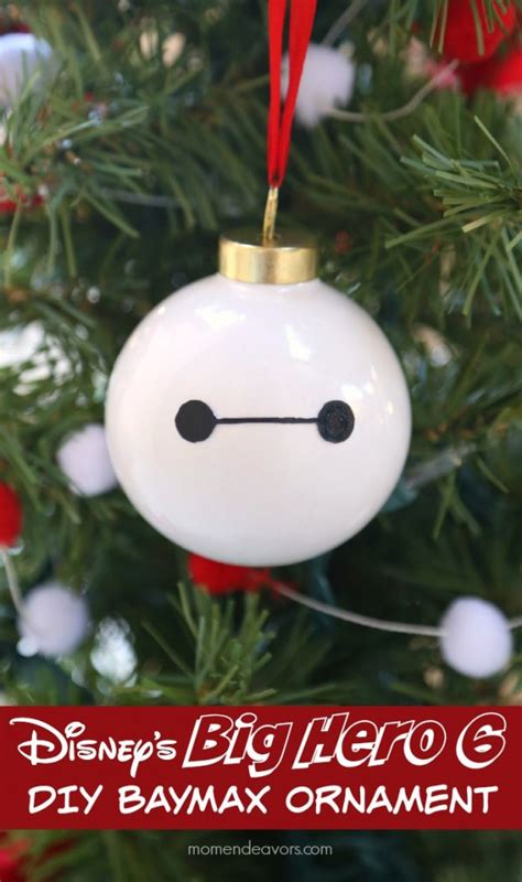 disneys big hero  diy baymax ornament