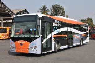 bangalore  indias  electric bus