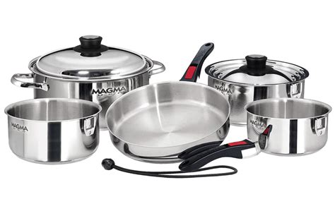 stainless steel cookware  aluminum top  picks