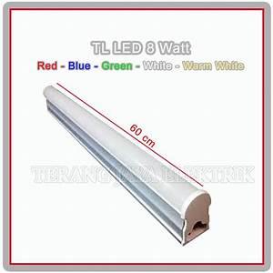 Jual Lampu Tl Led T5 8 Watt Panjang 60cm Mitsuwa Di Lapak