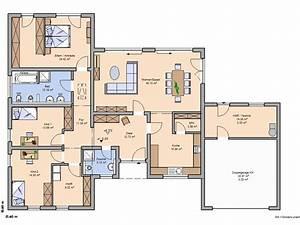 Haus Grundriss Ideen Einfamilienhaus : kern haus trio grundriss erdgeschoss grundrisse ~ Lizthompson.info Haus und Dekorationen