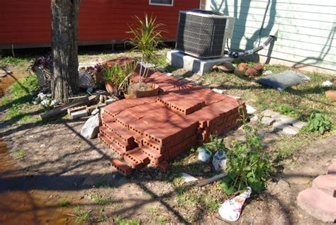 time paver patio  slope landscaping lawn care