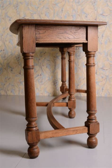 antique oak console table antique oak curved console table by waring gillows 4116