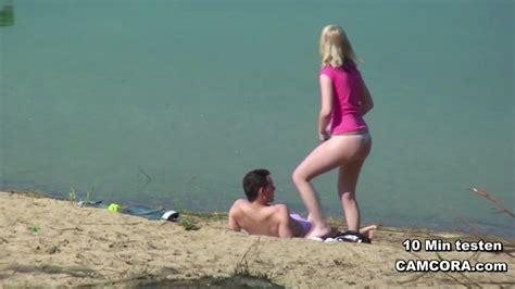 Young German Teen Couple Voyeur In Sex On The Hamburg Beach Zb Porn