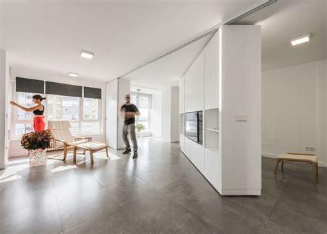 rotating walls  transformable furniture   rooms vanish    big mje house