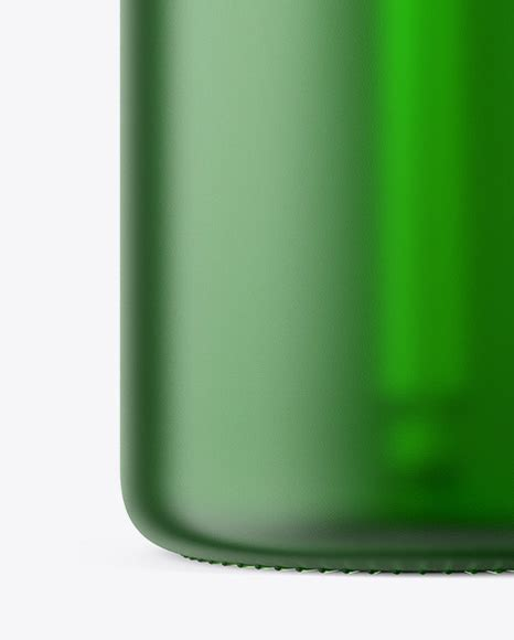Glass bottles with serum droppers. 50ml Frosted Green Glass Dropper Bottle in Bottle Mockups ...