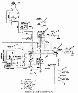 Great Dane Lawn Mower Wiring Diagram