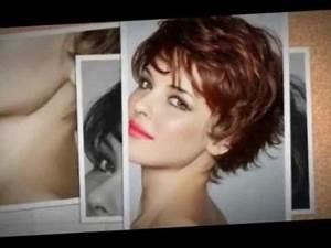 Coupe Mi Courte Femme : coupe de cheveux femme visage rond 2018 ~ Nature-et-papiers.com Idées de Décoration