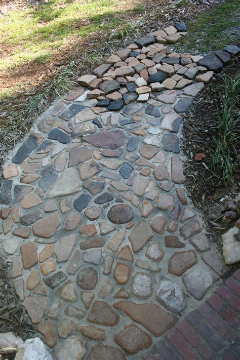 river rock pathway search landscaping more