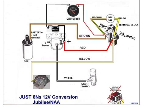 Help With Jmor Wiring Diagram For Jubilee Ford