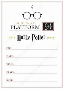 Harry Potter Einladungskarten Zum Ausdrucken Geburstags