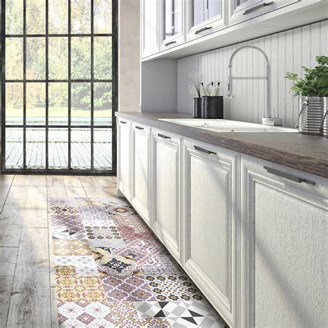 carrelage design tapis pour cuisine moderne design