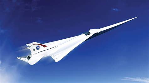 Nasa Designs Supersonic Passenger Jet For Overland Flights