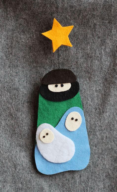 weihnachtskrippe aus filz freebie handmade kultur