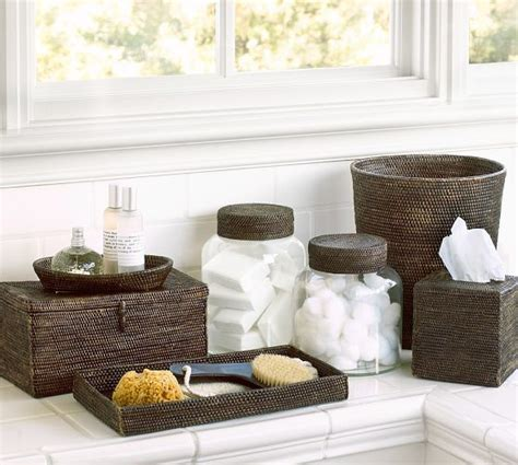 pottery barn bathroom accessories tava bath accessories