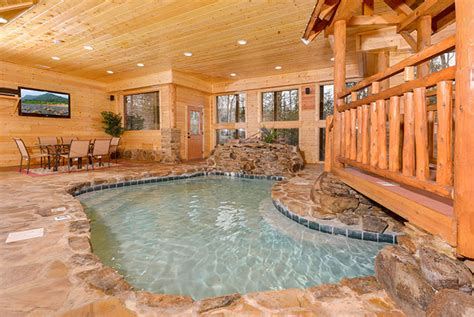 tennessee cabins with pools pigeon forge tn cabins copper river