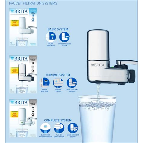Brita Water Filter Faucet by Clo42201 Brita On Tap Faucet Water Filter System