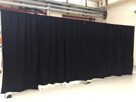 pipe drapes adjustable backdrop kit 10ft x 50 ft wide pipe