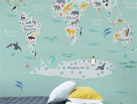 wereldkaart kinderkamer archieven huis inrichtencom