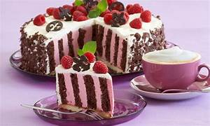 Leckere Einfache Torten : himbeer streifentorte rezept schokoladen geb ck chocolate pastry fruchtiger kuchen ~ Orissabook.com Haus und Dekorationen