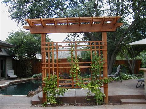 Outdoor Trellis by 1000 Images About Pergola Trellis And Arbor Ideas On