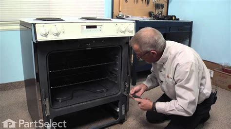 replacing  oven door  hinge part wbx