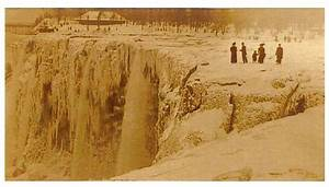 Frozen Niagara Falls in 1911 | Places I Want To Go | Pinterest