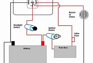 Basic Motorcycle Light Wiring Diagram