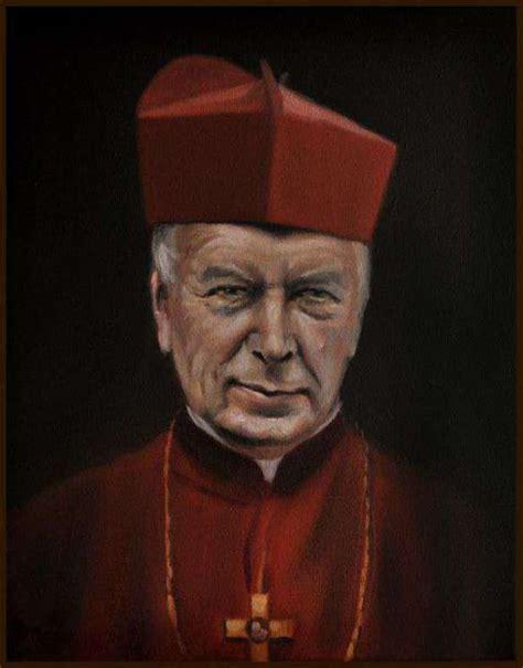 Cardinal wyszyński was an unquestionable leader of the polish nation in opposition to the communistic regime. Obraz olejny Stefan Kardynał Wyszyński 24x30 GIERLACH - Damian Gierlach | TouchofArt