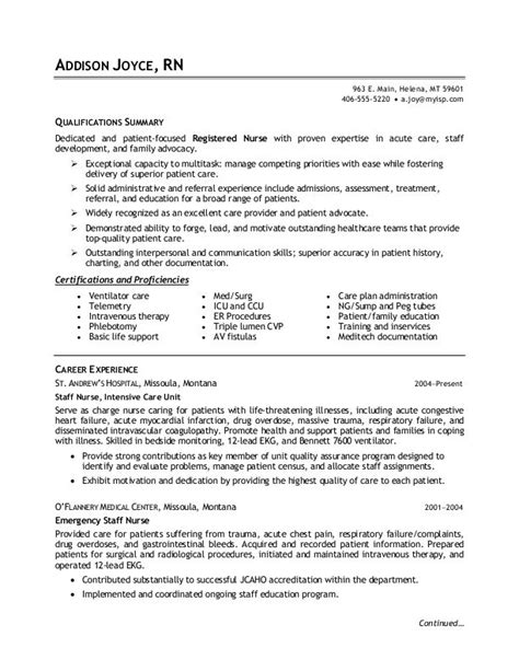Sle Resume For Nurses by Sle Resume For Phlebotomist Danaya Us