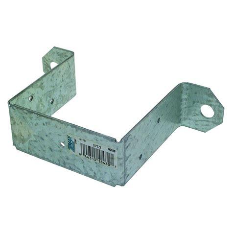 simpson strong tie z max 4 in x 4 in 14 gauge galvanized