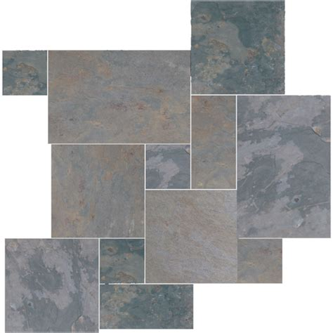 Versaille Tile Patterns Floors by Daltile Slate Collection Versailles Pattern Mosaic Tile