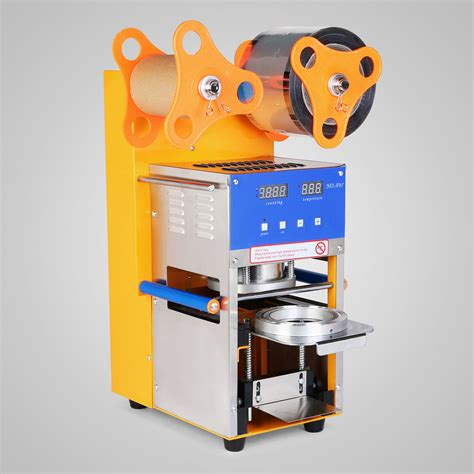 cup sealer auto sealing machine packaging  sensitive scaner  lcd ebay