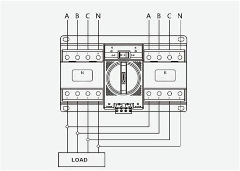 automatic transfer switch  pole    amps atocom