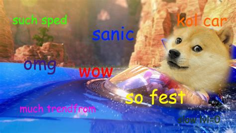 Doge Sanic By Erniesmith On Deviantart