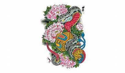 Japanese Designs Transparent Background Tattoo Snake Tattoos