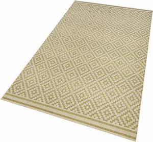 teppich raute bougari rechteckig hohe 8 mm in und With balkon teppich mit tapeten vlies otto