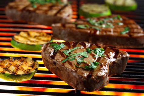 how to grill tuna steaks grilled tuna steaks with cilantro and basil