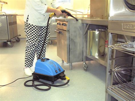 kitchen floor cleaning machines hospital healthcare industry cleaning equipment steam 4768