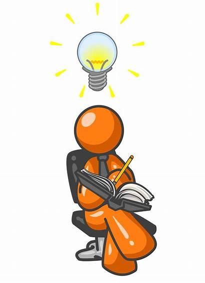 Clipart Idea Clip Accomplishment Conclusion Creating Wrote