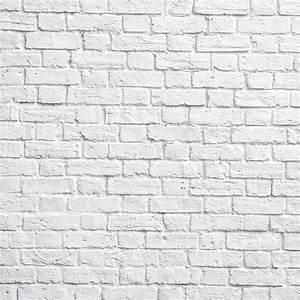 White Brick Wall Wallpaper Wall Decor