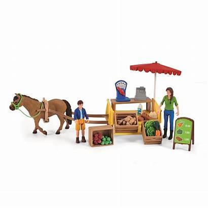Schleich Farm Stand Mobile Mobiler Sunny Mobiele
