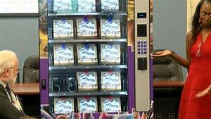 Las Vegas rolls out first needle vending machine