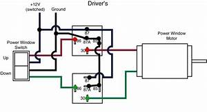 Power Window Relays  4 Post Vs 5 Post
