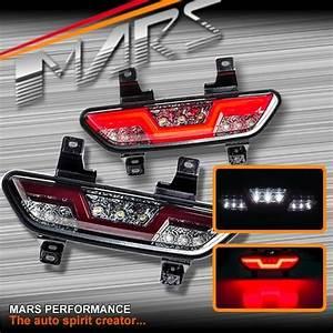 Mars Smoked Full Led Rear Fog  U0026 Reverse Tail Lights For