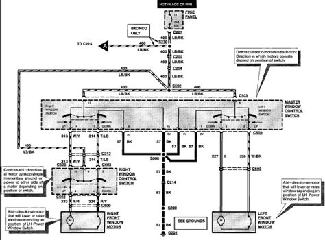 1992 Ford Bronco Fuse Box Diagram by 1990 Ford Bronco Rear Window Wiring Diagram Somurich