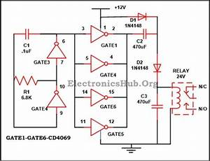 Electrified  12v To 24v Dc Converter Circuit